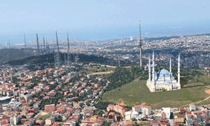 Çamlıca Tepesi Cami projesi 43 günde çıkmaz