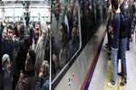 Yolcular Marmaray'dan inmek bilmiyor