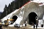 Ilgaz Dağı Tüneli'nin yüzde 28'i delindi