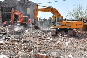 Kentsel dönüşümde on binadan biri yıkıldı