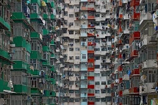 Dikey şehirleşmenin dehşete düşüren fotoğrafları!