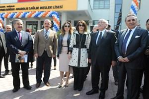 Bağcılar Aydın Doğan Anadolu Sağlık Meslek Lisesi açıldı!