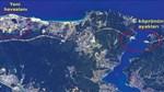 Uzaydan 3. köprü görüntülendi