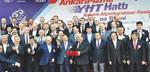 Ankara İzmir Yüksek Hızlı Tren'in temeli atıldı