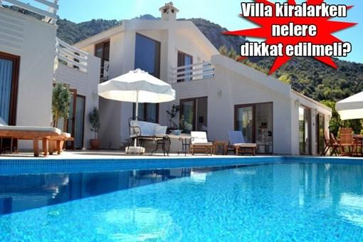 2014 yazlık villa kiralama sezonu açıldı