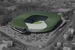 Bursa'nın yeni stadı yükseliyor