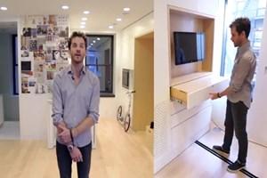 38 metrekarelik evi 5 oda 1 salon yaptı!