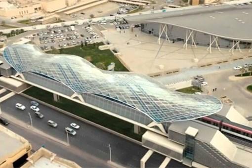 Riyad'da metro çalışmaları başladı