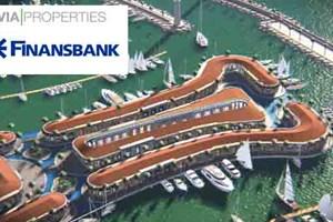 Via Properties ve Finansbank'tan 125 milyon Euro'luk anlaşma