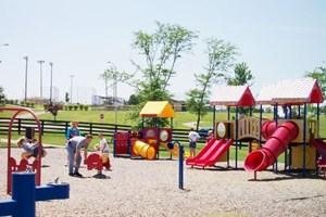 Çocuk parklarına baz ayarı