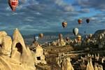 Kapadokya'nın lokomotifi balonlar