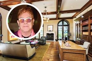 Elton John bu ev için servet ödedi