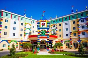 Hiç legodan otel gördünüz mü?