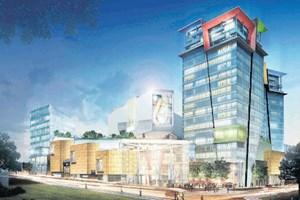 530 milyon dolarlık rezidans projesi açıldı...