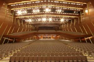 Polimeks'in inşa ettiği Awaza Kongre Merkezi açıldı