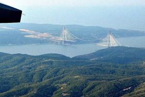 Yavuz Sultan Selim Köprüsü'nün havadan görüntüleri çekildi