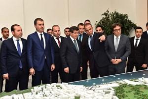 Başbakan Okmeydanı Kentsel Dönüşüm maketini inceledi!