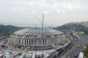 İşte çatısı kaldırılan Arena!