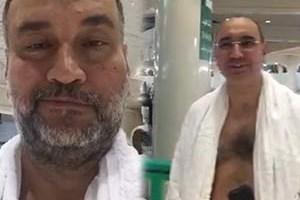 Murat Ülker'in flaş görüntüleri