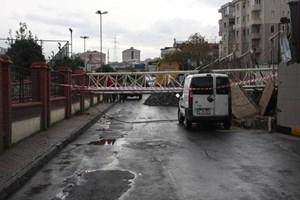 İstanbul'da vinç dehşeti