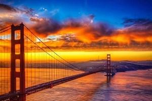 Gün batımına birde böyle bakın!