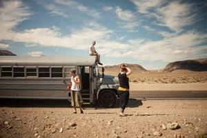 Okul otobüsünden harika eve yolculuk
