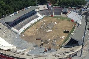 Beşiktaş Stadyumu'nda neler oluyor? Tarih nereye gidiyor?
