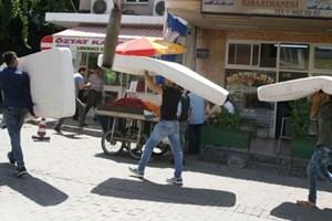 İzmir'de evler pansiyona döndü!