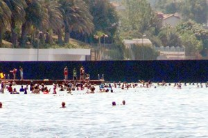 45 yıllık tesis Kadınlar Plajı oldu