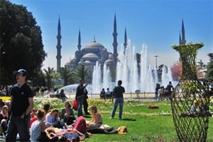 İstanbul'a turist akını!