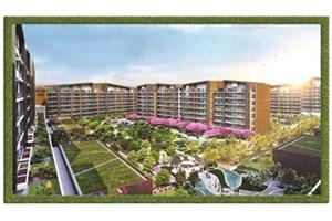 Villa, teras ve daire aynı projede birleşti