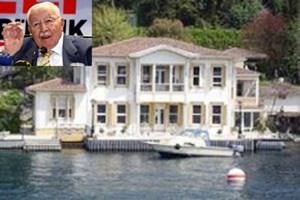 Necmettin Erbakan'ın Kanlıca'daki yalısı rekor fiyata satışta!