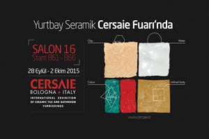 Yurtbay Seramik, CERSAIE Seramik Fuarı'na katılacak!