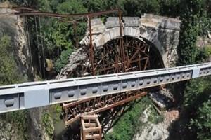 Tarihi Abidin Paşa Köprüsü İpek Yolu'nu hareketlendirecek!