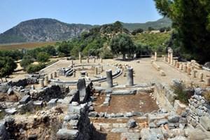 Köyceğiz'deki Kaunos Antik Kenti dünyaya tanıtılacak!