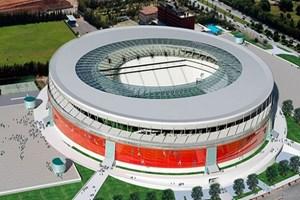Antalya arena stadyumu'nun inşaatı tamamlandı