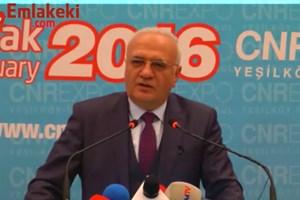 Ekonomi Bakanı Mustafa Elitaş İMOB'ta konuştu