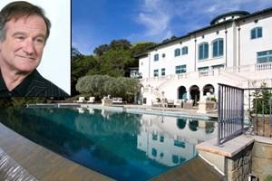 Robin Williams'ın uğruna canını verdiği evi satıldı