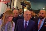 Ekonomi Bakanı Elitaş İMOB Fuarı'nda standları dolaşıyor