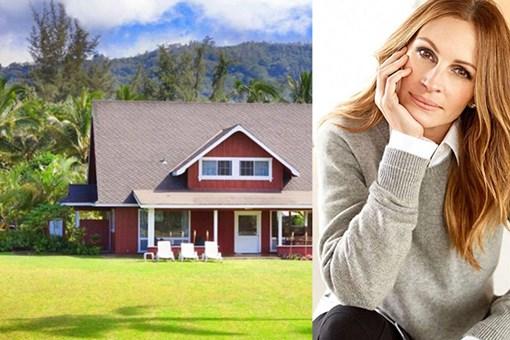 Julia Roberts Hawaii'deki yazlık evini satışa çıkardı