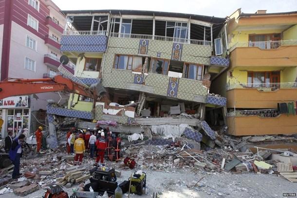 Van'da meydana gelen depremden sonra 17 bin konut yapıldı