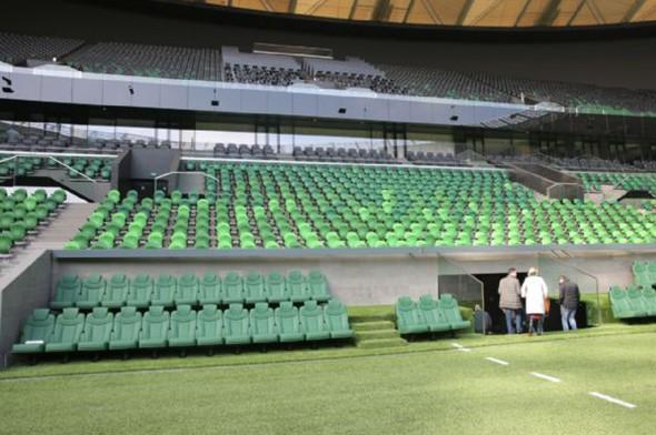 Krasnodar Arena stadının proje müdürü Erdal Güner, yapımına 2013'te başladıkları stadı 40 ay gibi...