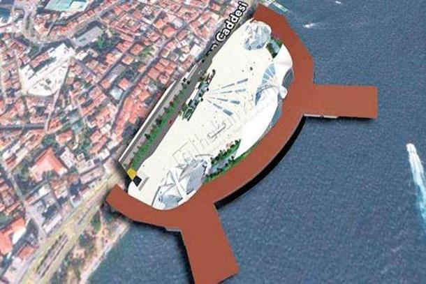 ÇED raporu alınan Kabataş Deniz Terminali projesi 24 ayda tamam!