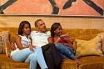 ABD Başkanı Barack Obama Beyaz Saray'ın kapılarını açtı!