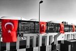 Vodafone Arena Türk bayraklarıyla donatıldı!