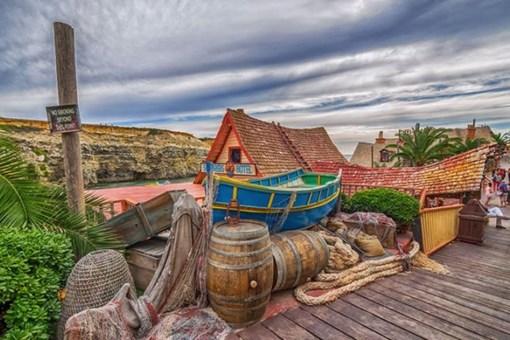 İşte Malta'da bulunan Temel Reis köyü..