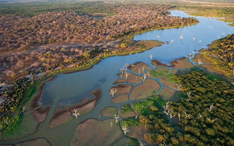 Arizona'nın iki katı büyüklüğünde olan Botsvana, toplam 232 bin kilometrekare alanı kaplar.
