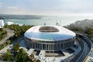 Vodafone Arena'da çalışmalar son hız devam!