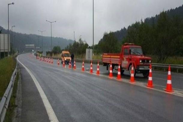 Yola çıkacaklar dikkat! Bolu Dağı Tüneli trafiğe kapatıldı