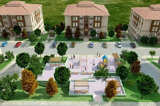 TOKİ Isparta'ya 293 konut projesi yapacak